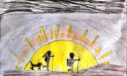 FORWARD BY ADELINA NICHOLSON (age 8)